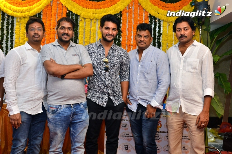 Aadi's 'Burrakatha' Movie Launch