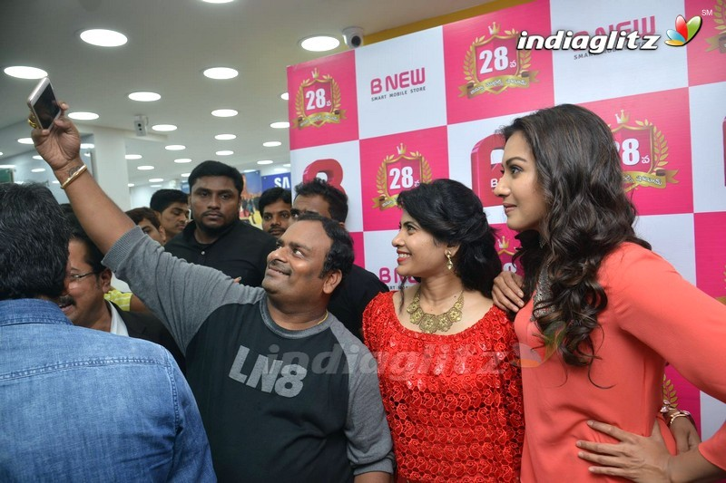 Catherine Launches B New Mobile Store at Kurnool