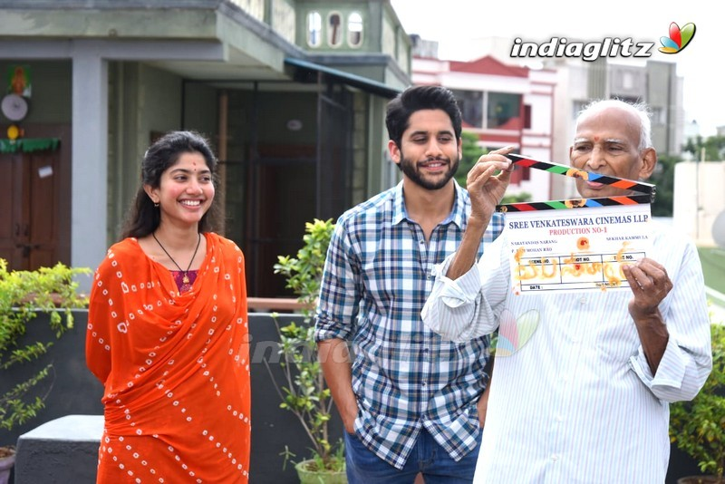 Naga Chaitanya, Sai Pallavi New Movie Launch