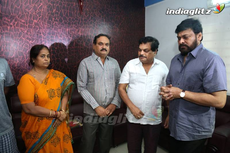 Chiranjeevi Tribute To B Jaya