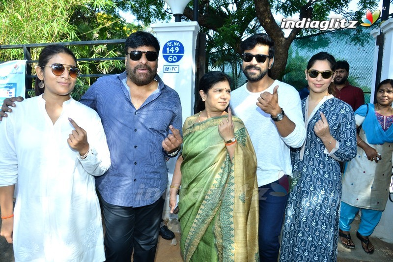 Celebs Cast Their Votes