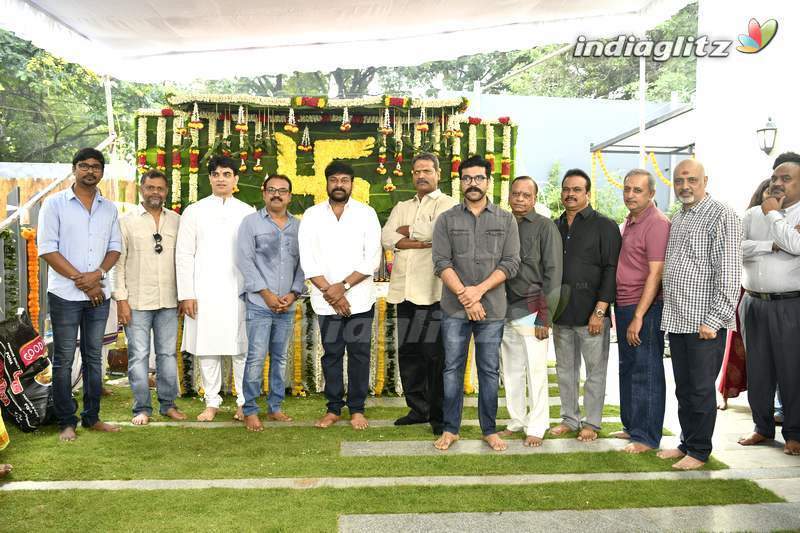 Chiranjeevi - Koratala Siva's Movie Launched