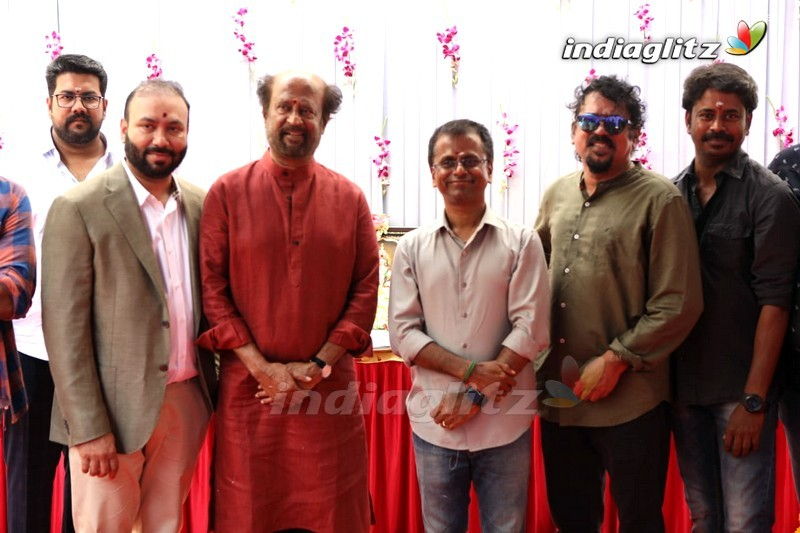 'Darbar' Movie Launch