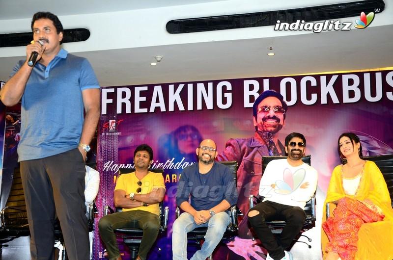 'Disco Raja' Success Meet
