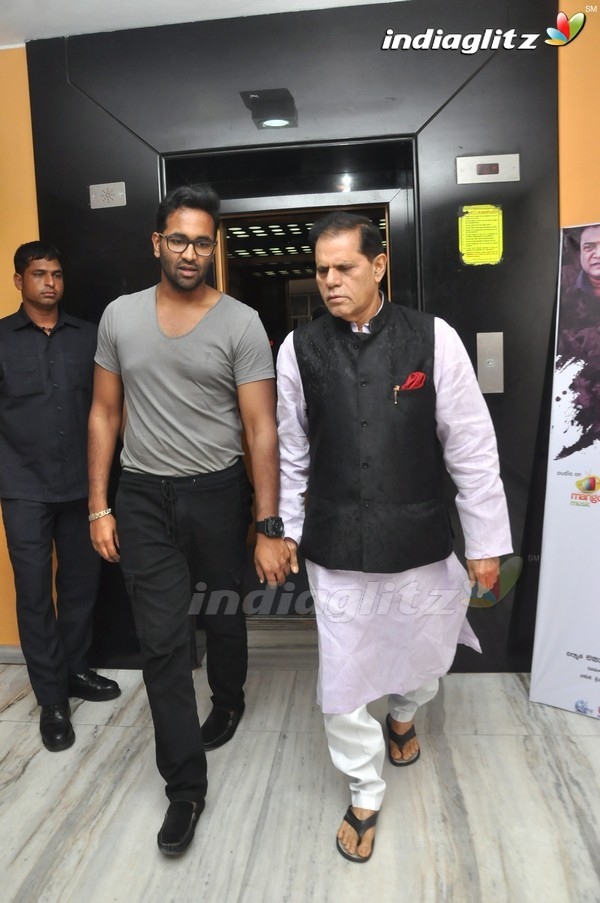 Subbarami Reddy Watches 'Dynamite' At Prasad Lab