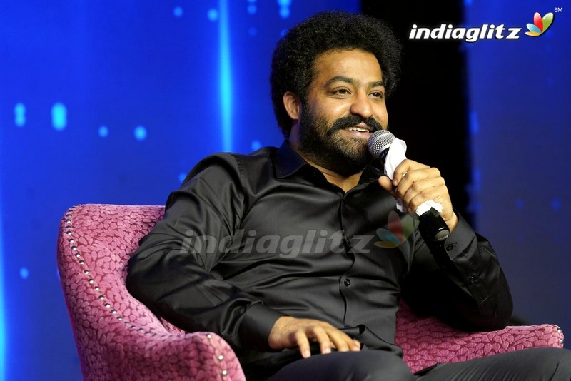 NTR @ Evaru Meelo Koteeswarulu Show Press Meet