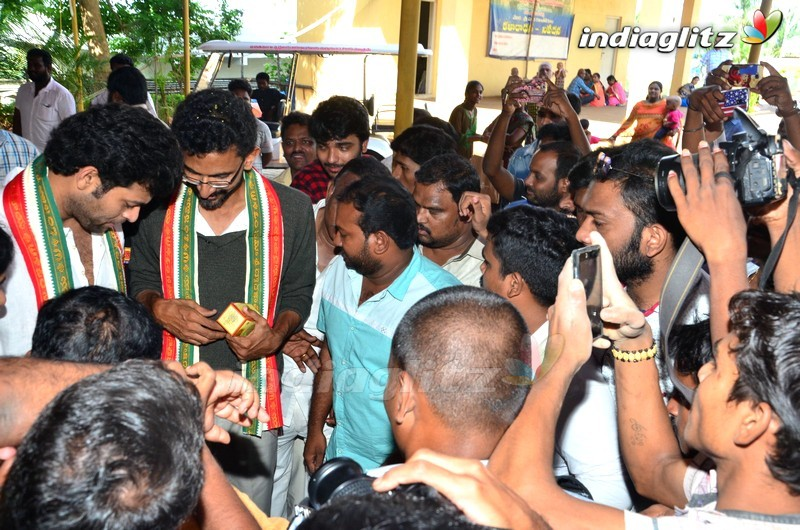 'Fidaa' Team Visits Dwaraka Tirumala (Chinna Tirupathi) Temple