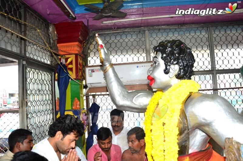 'Fidaa' Team at Hanuman Junction