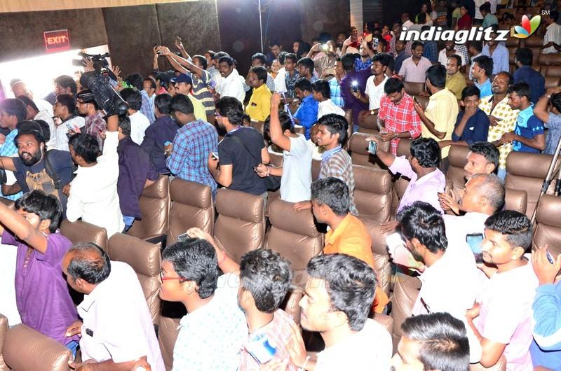 'Fidaa' Team @ Tirupathi