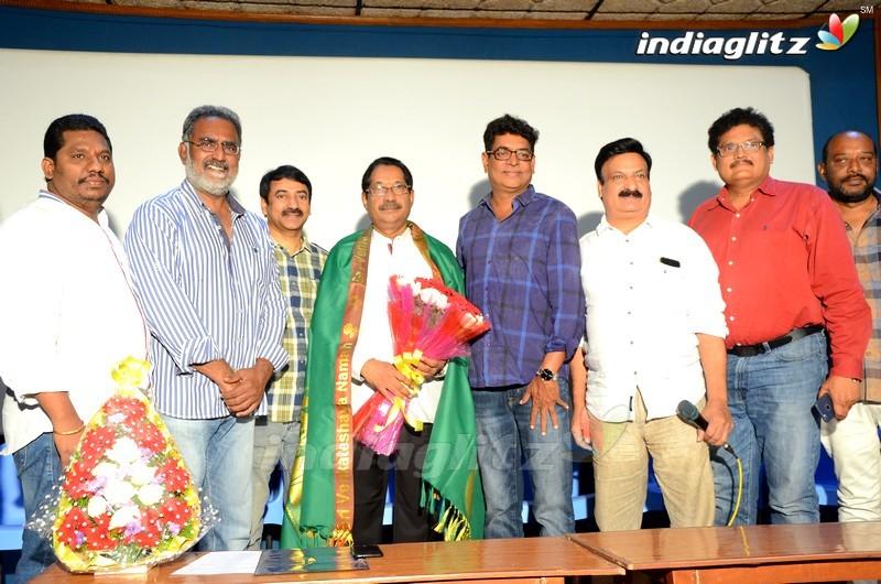 Film chamber New president Veernaidu Felicitated