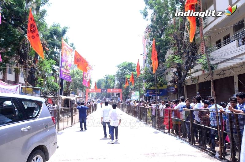 Khairatabad Ganesha Idol 2018 Pics