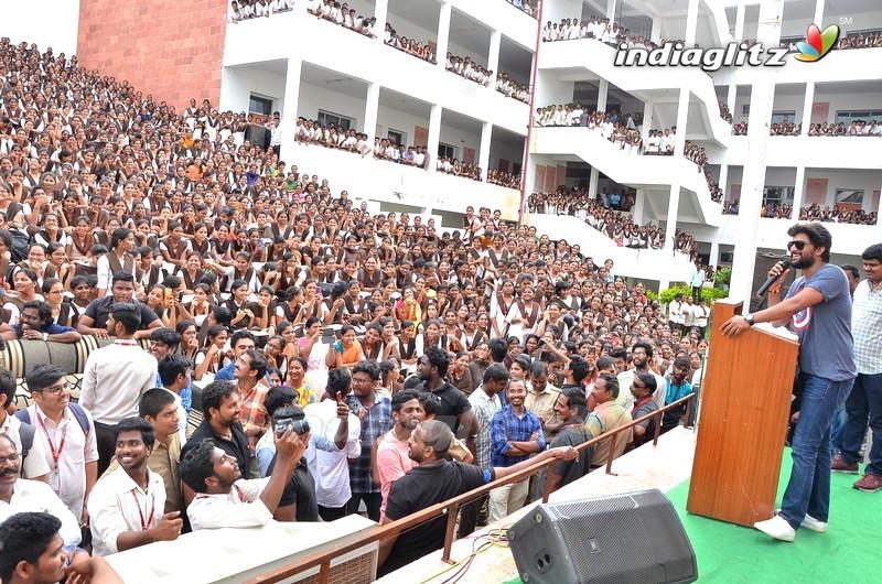 'Gang Leader' Promotions @ VVIT College, Guntur