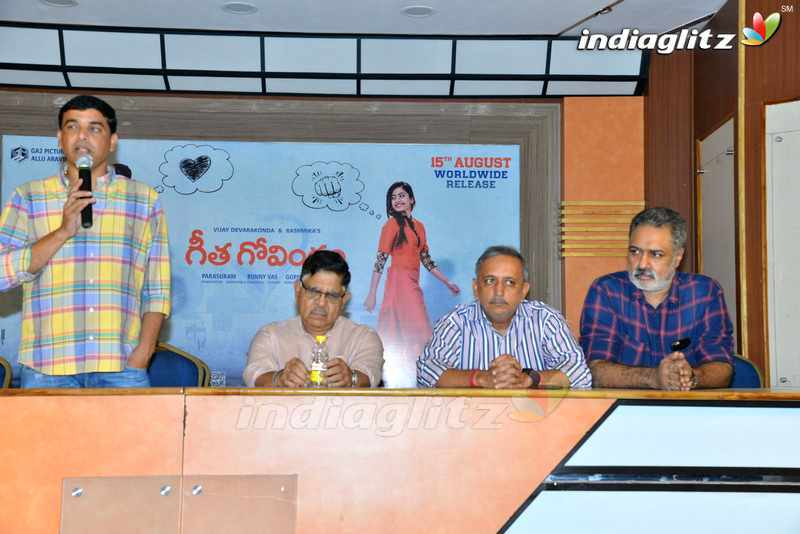 'Geetha Govindam' Press Meet