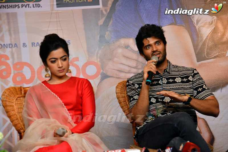 'Geetha Govindam' Press Meet @ Vizag
