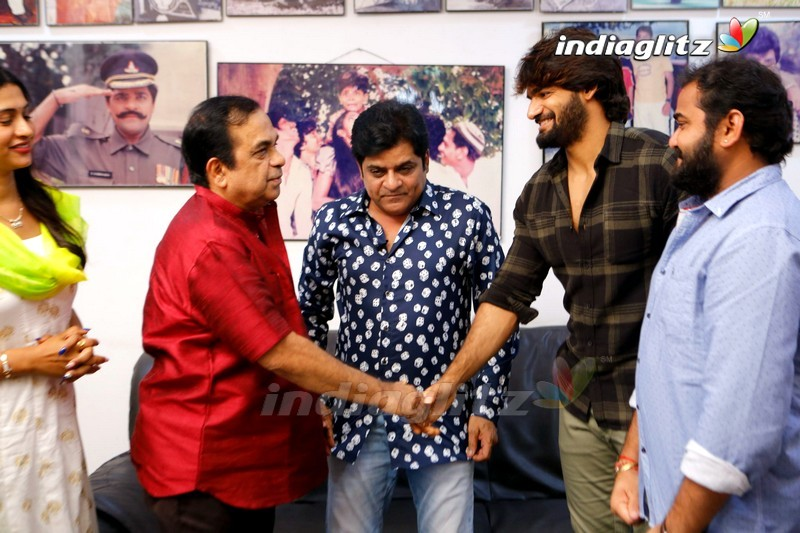 Brahmanandam Launches 'Guna369' 'Bujji Bangaram' Song