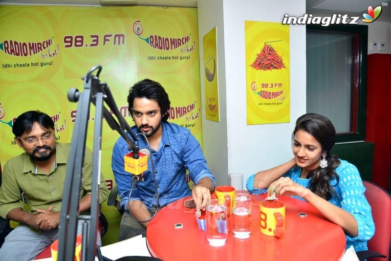 'Happy Wedding' Team @ Sri Chaitanya College, Gannavaram And Vijayawada Radio Mirchi