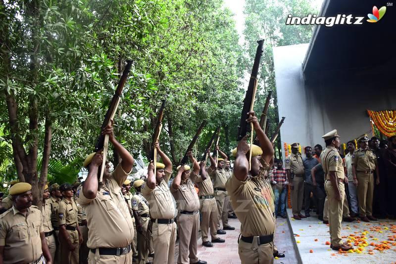 Nandamuri Harikrishna final journey and funeral