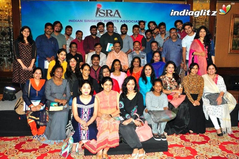 ISRA ( Indian Singers Rights Association) Press Meet