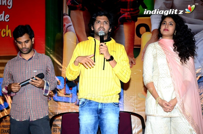 'Jathi Ratnalu' Press Meet