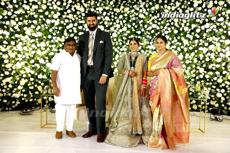 Celebs @ Jayasudha's Son Nihar Kapoor Wedding Reception
