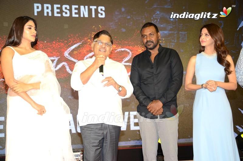 'Kanchana 3' Pre Release