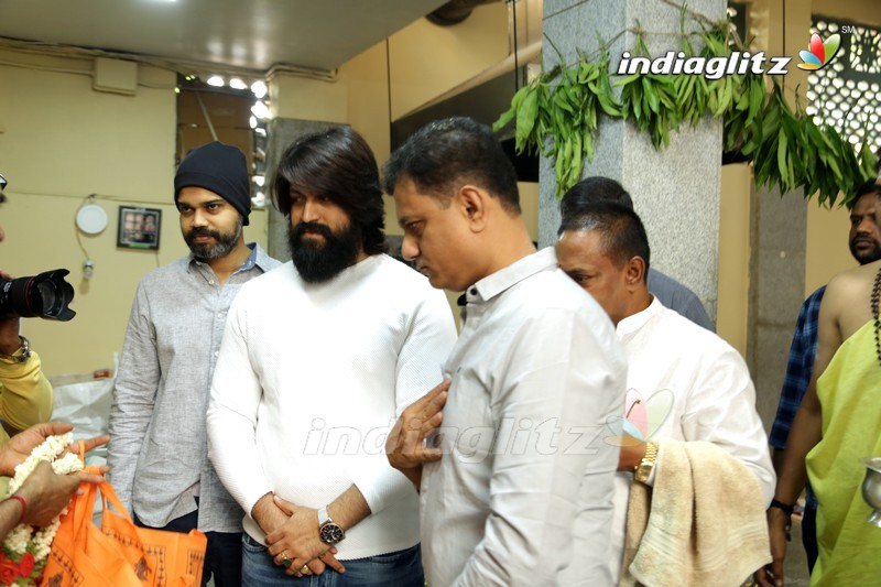'KGF Chapter 2' Movie Launch