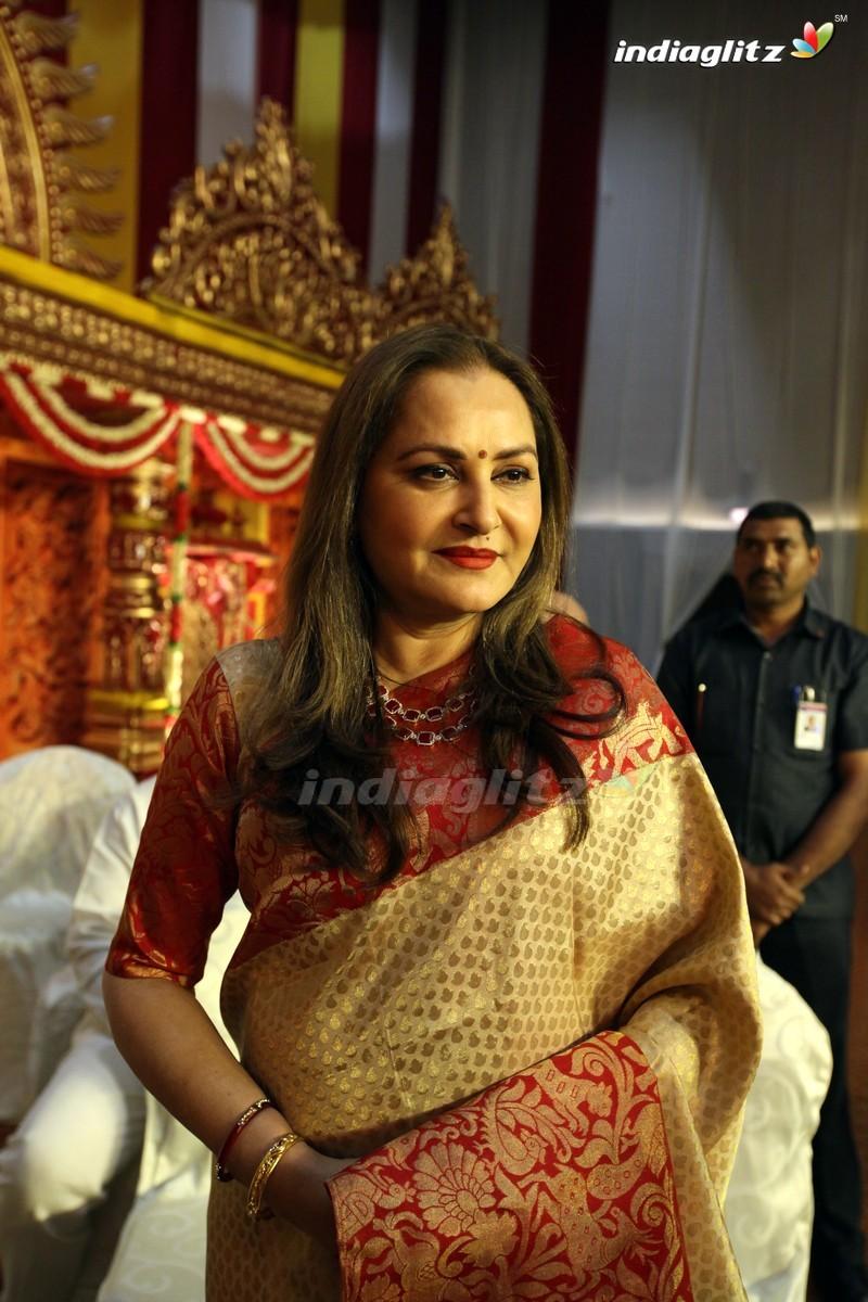 Celebs @ Kodi Ramakrishna Daughter Pravallika Wedding Photos