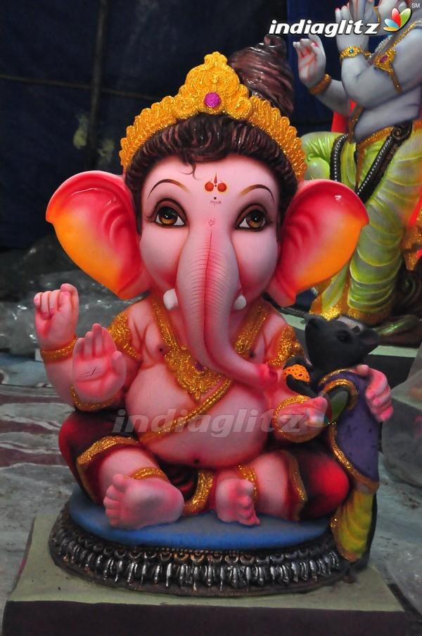 Lord Ganesha Idols In Hyderabad