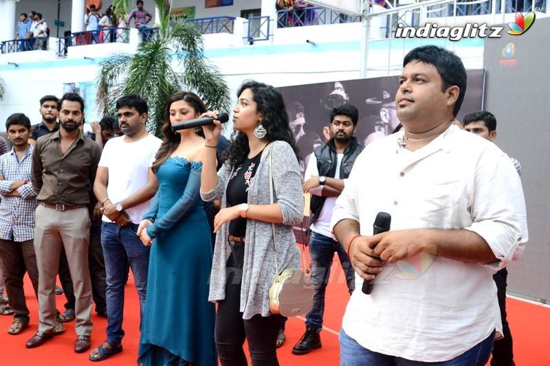'Mahanubhavudu' 2nd Song Launch @ Vignan College