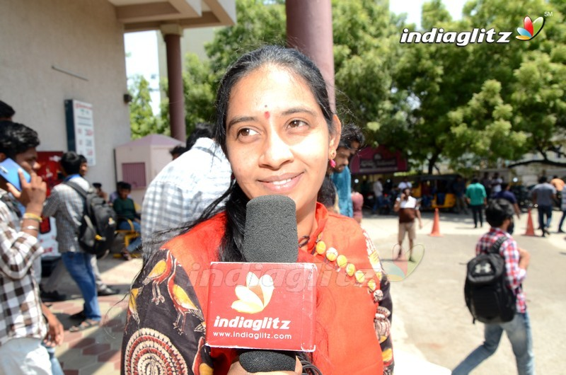 Mahesh Babu Fans Hungama @ 'Maharshi' Theaters