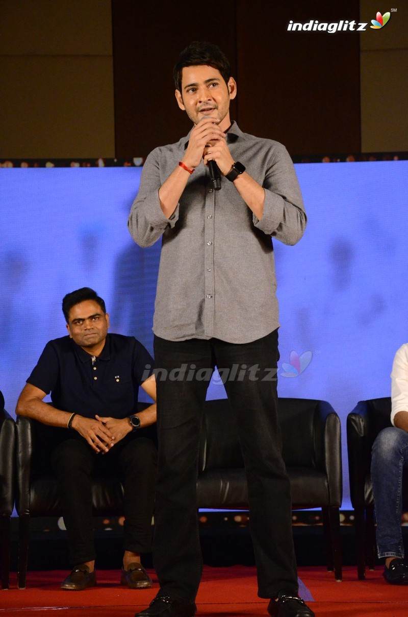 'Maharshi' Success Meet