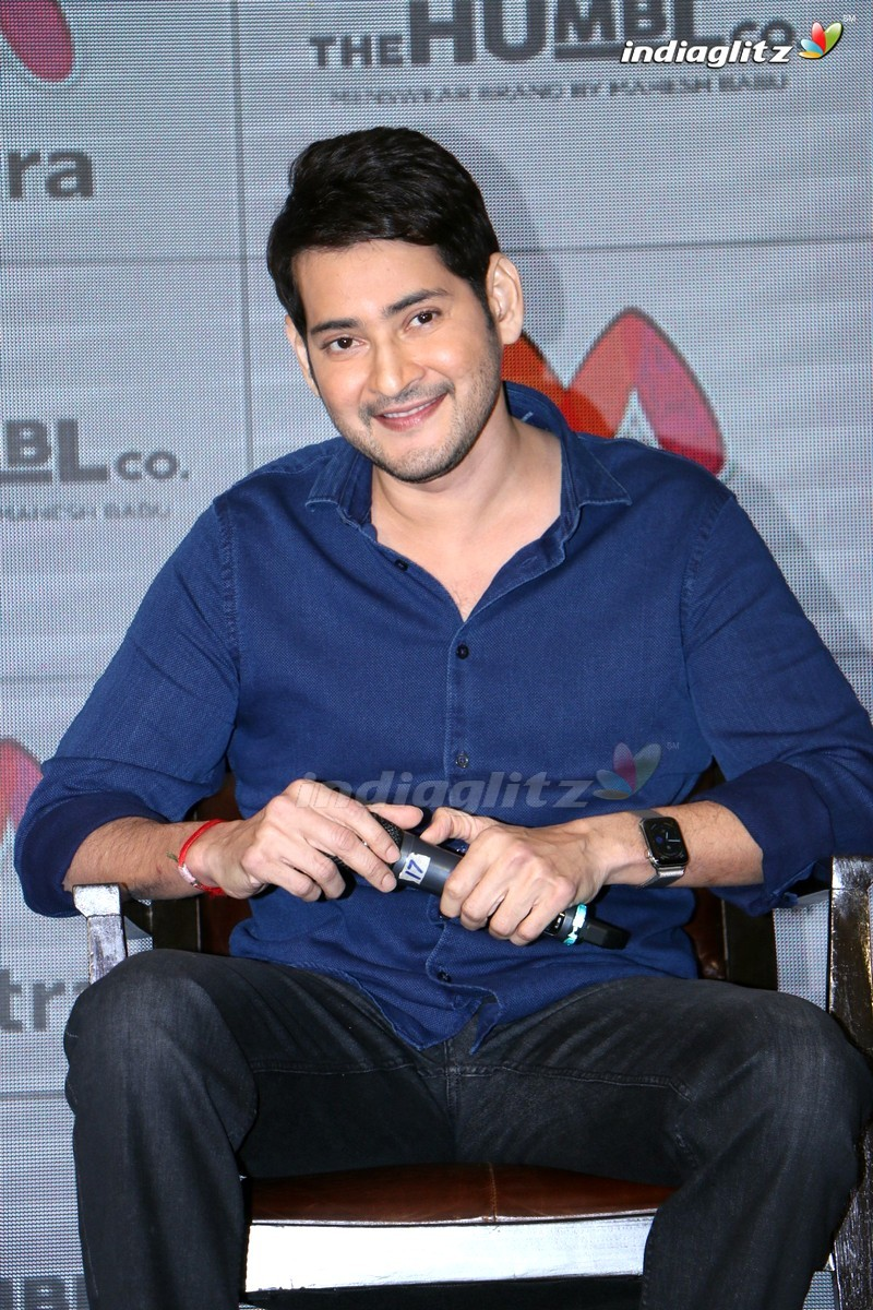 Mahesh Babu's Humble Brand - Myntra Press Meet