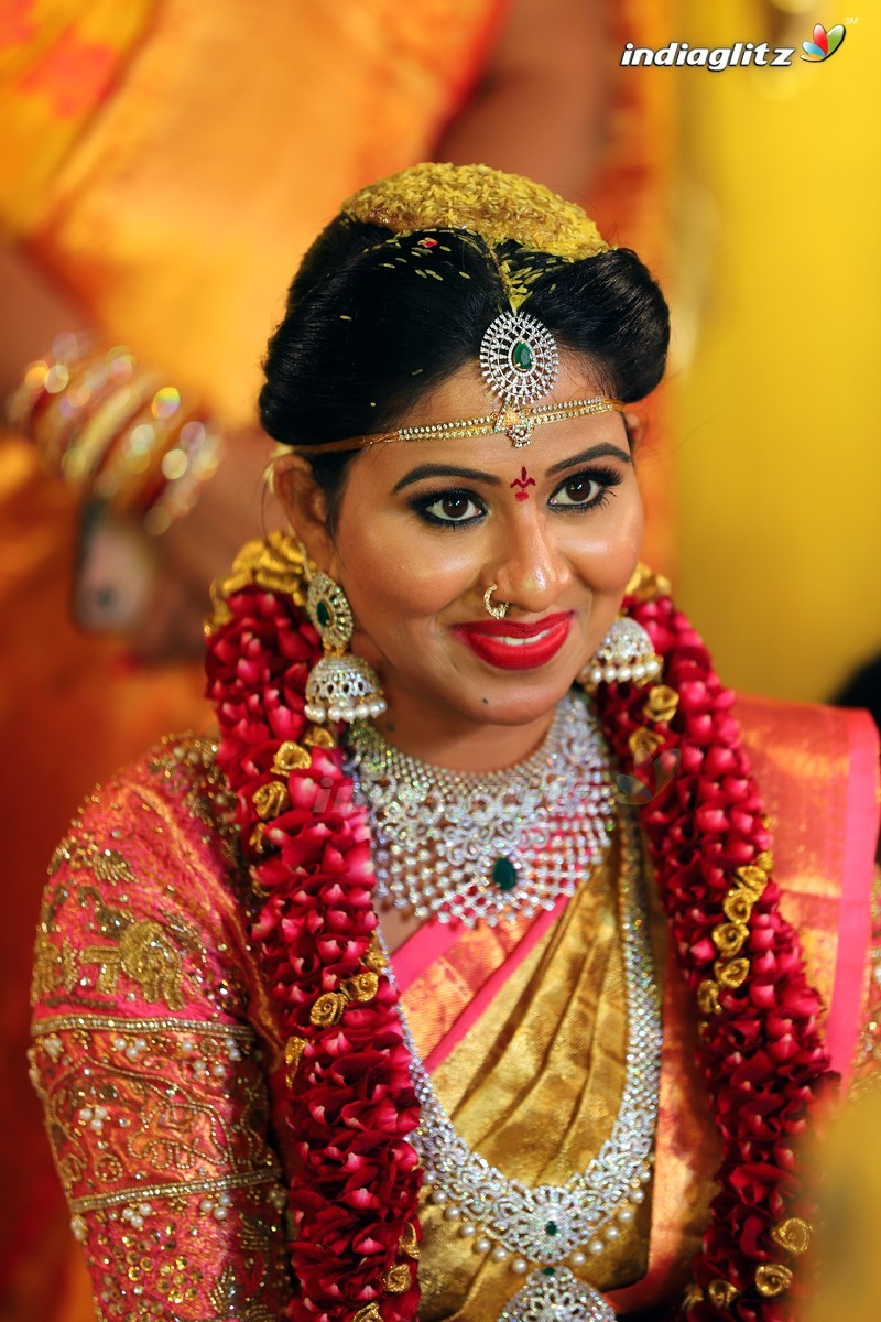 Actress Manali Rathod Wedding Stills