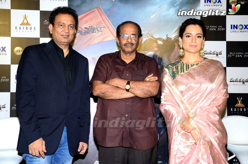 'Manikarnika' Press Meet
