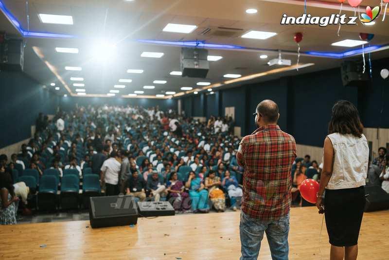 'Manu' Team Promotional Tour @ Hitam College & Vnr College