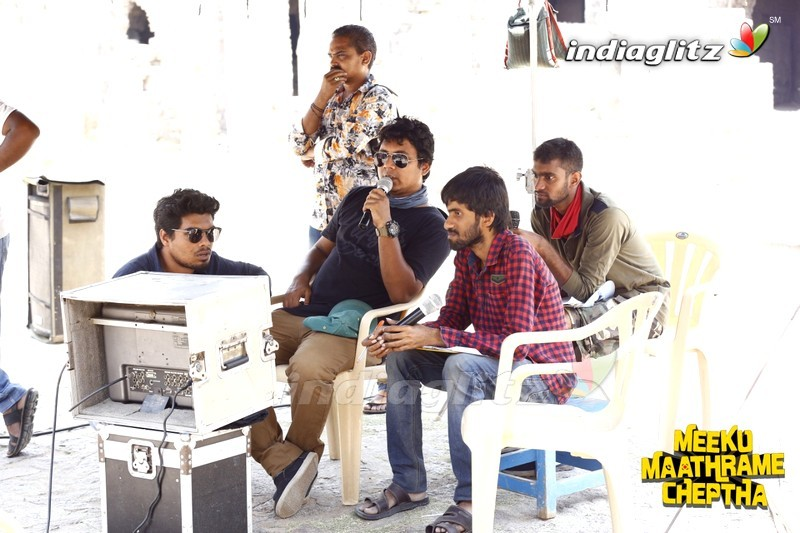 'Meeku Maathrame Cheptha' On Location