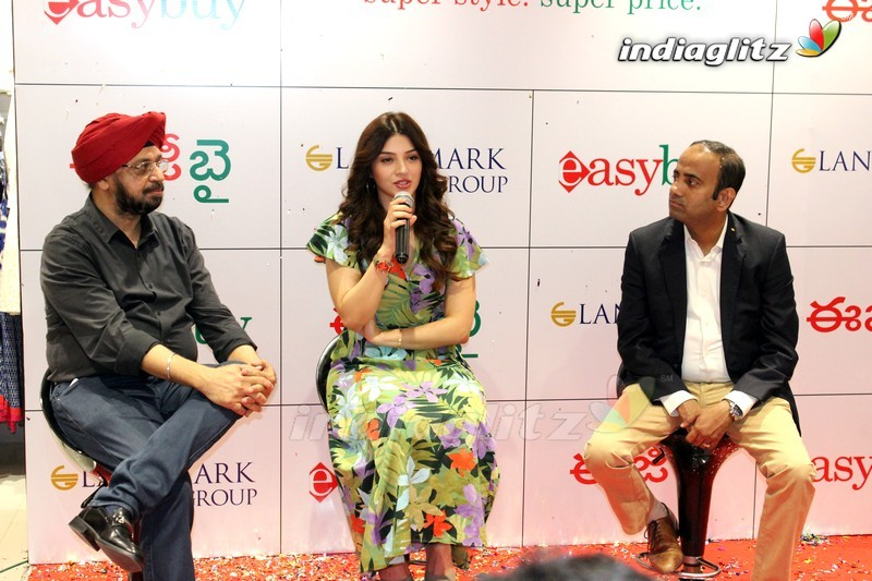 Mehreen Pirzada Launches 13th Store EasyBuy in Hyderabad