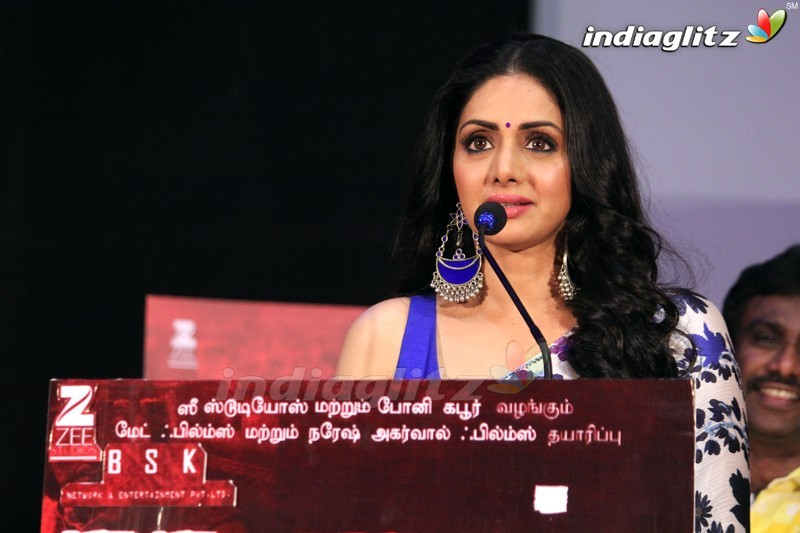 'Mom' Press Meet @ Chennai