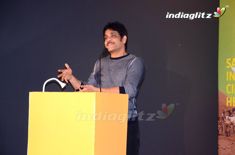 Nagarjuna & Amala Launches 5th Film Preservation & Restoration Work Shop Indai 2019 Poster