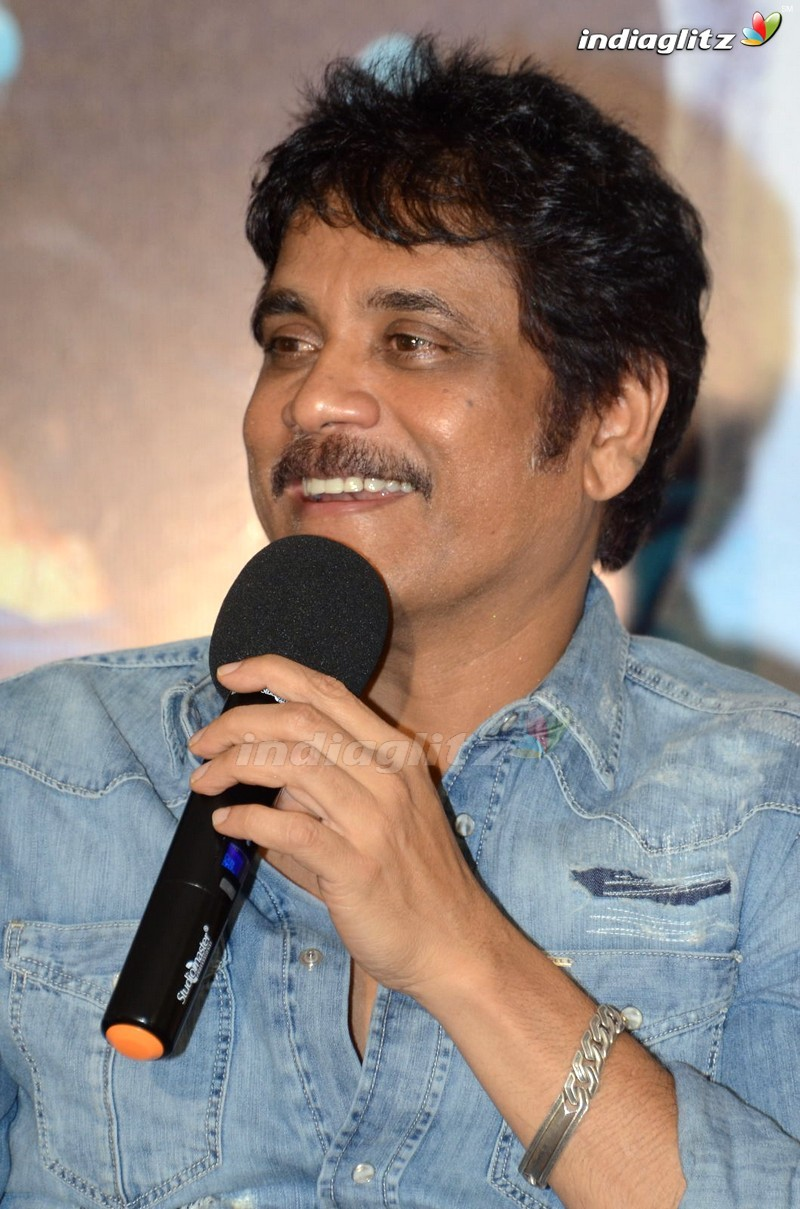 Nagarjuna Press Meet About 'Chi La Sow'