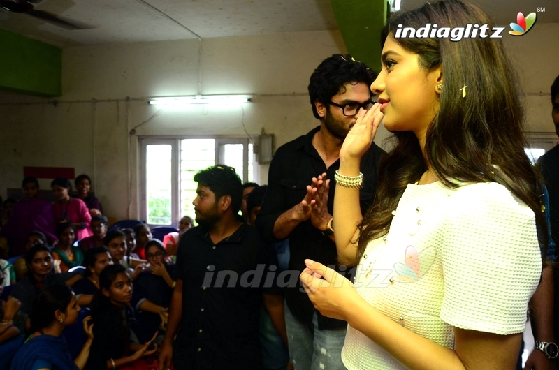 'Nannu Dochukunduvate' Team at ISTS Women's Engineering College