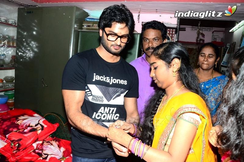 Sudheer Babu Fans Meet in CMR Mall,Vizag and Srikakulam