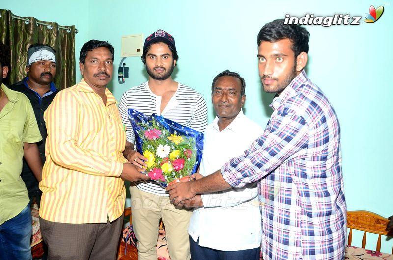 'Nannu Dochukuduvate' Team @ Priyadarshini College & Sudheer Babu Fans Meet @ Khammam