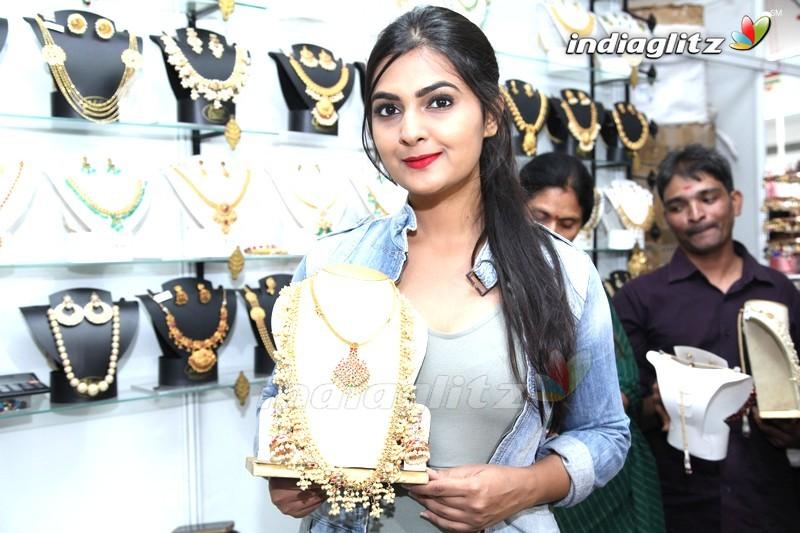 Neha Deshpande Inaugurates Silk India Expo