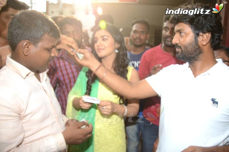 Nela ticket Team Sells Tickets at Sandhya Theatre