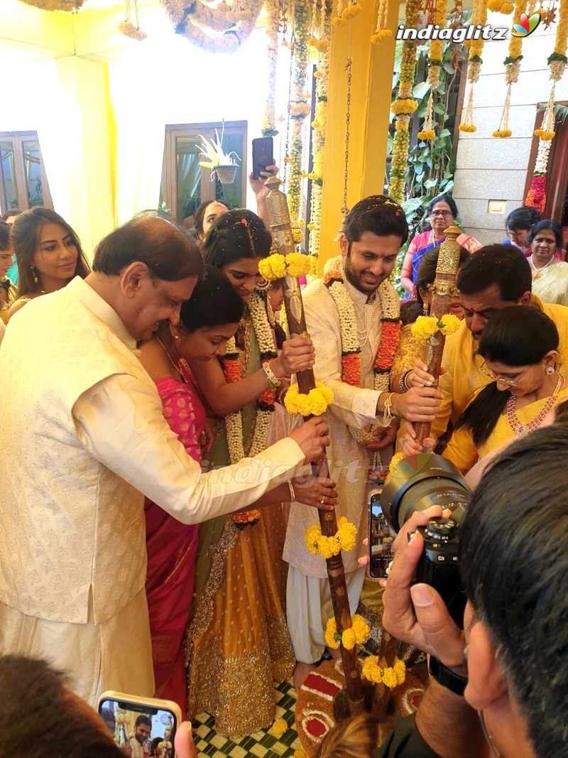 Nithin - Shalini Engagement Moments