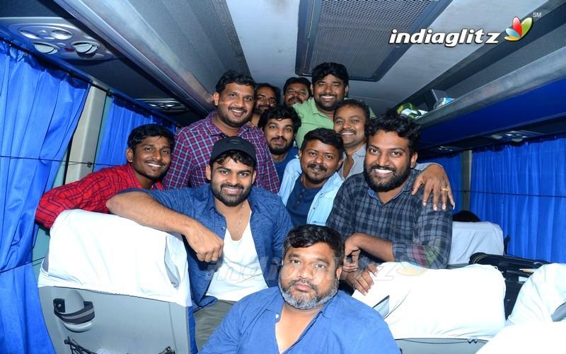 'Pratiroju Pandage' Team At Vijayawada