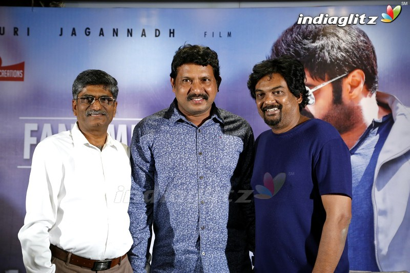 Puri & V Anand Prasad Meeting With Balakrishna Fans