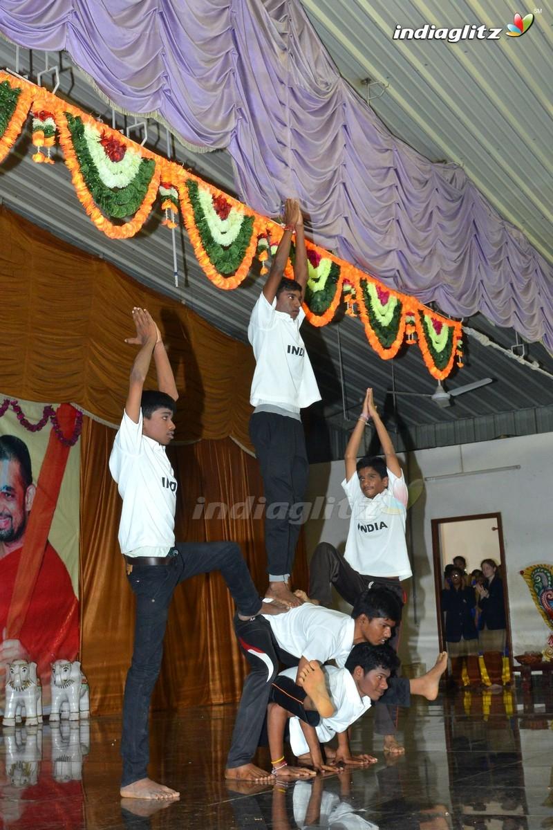 'Raja The Great' Team @ Netra Vidyalaya 10th Anniversary Celebrations