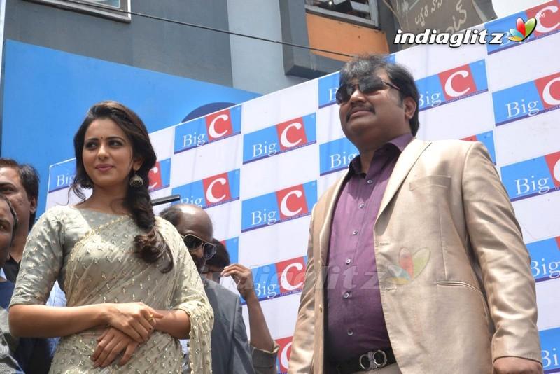 Rakul Preet Singh Launches BIG C Showroom @ Kurnool